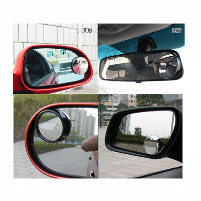2Pcs Car Rearview Mirrors Universal Blind Spot Exterior Auto Accessories Mirror