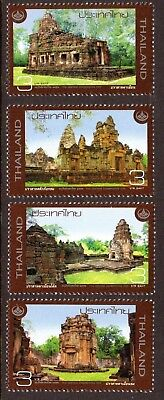 2009 THAILAND HERITAGE CONSERVATION STONE SANCTUARIES SG2966-2969 mint unhinged