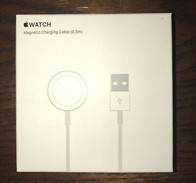 Apple Watch Magnetic Charging Cable 0.3m (1 foot) -MLLA2AM/A, Genuine, Original