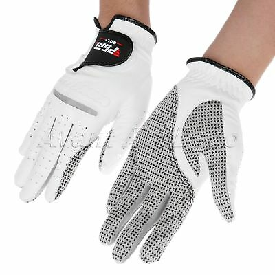 Breathable Cabretta Men Left Right Hand Golf Glove 22-27 Size Training Supplies