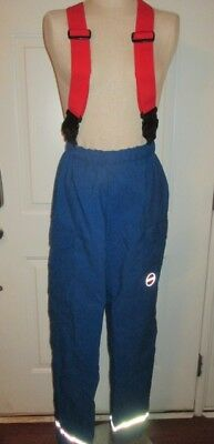 Vintage Globe Lifeline EMS Rescue Cargo Pants  with RED Suspenders XS VGUC
