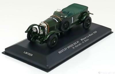 1:43 Ixo Bentley Speed Six Winner Le Mans 1929 Barnato