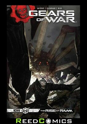 GEARS OF WAR RISE OF RAAM GRAPHIC NOVEL New Paperback Collects 4 Part Series