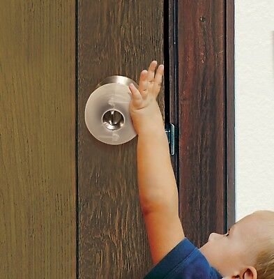 Door Knob Safety Cover- Child Proof Door-Dreambaby L908 Door Knob Covers-3 Pack