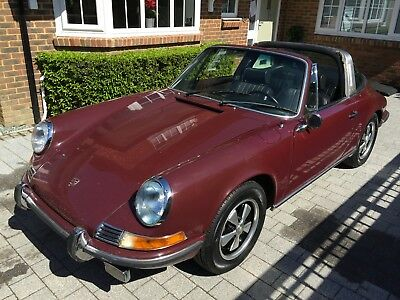 PORSCHE 911 S 1970 2.2 MFI Now UK registered EVG 425H