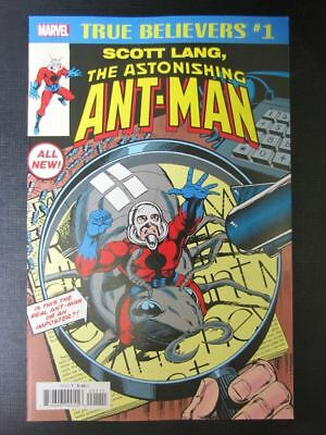 The Astonishing Ant-Man: True Believers #1 - August 2018 - Marvel Comic # 15A100