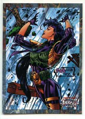 Cyber Force - Stryke Force - #6 - Cards Illustrated - Tempest