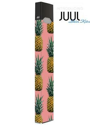 Skin Decal Wrap Wraps for JUUL4  Protective Vinyl Cover Sticker Kit Pineapple