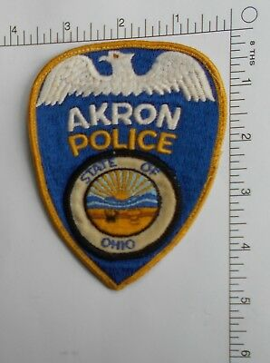 Akron Ohio Police Patch  *USED*