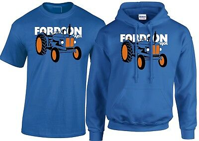 FORDSON MAJOR DEXTA TRACTOR PERSONALISED PRINTED HOODIE