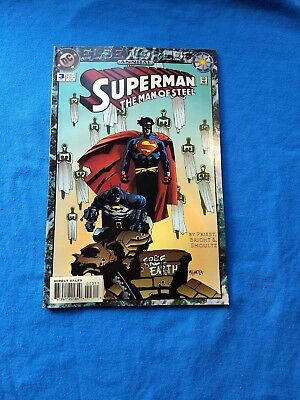 Superman Man Of Steel Annual 3 Vg Elseworlds Dc Comics 1994 'unforgiven'  Sale