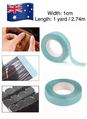 1 Roll Hair  Extension Tapes Wig Hairpiece Hair Tape Double sided Adhesive New