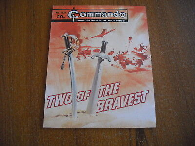 COMMANDO WAR COMIC  - No. 1834 - TWO OF THE BRAVEST - 1984