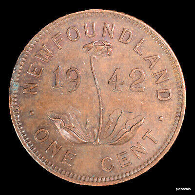 Newfoundland One Cent 1942 #b9