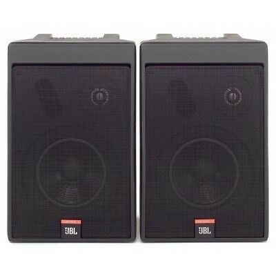 "PAIR JBL Control 5 Studio monitors x 2 & WALL BRACKETS ""BARGAIN!!"""