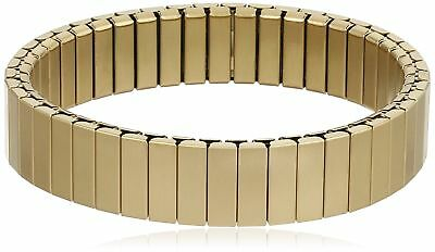 Rilee And Lo XW12M45LYGST Gold Stacking Bracelet Satin Strp S/m Stainless Steel