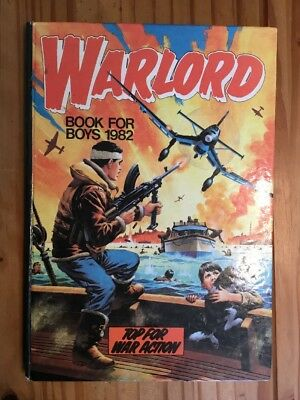 Warlord Annual  1982 in good condition . Unclipped.