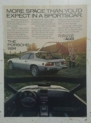 """1978 Porsche 924 """"Everything You've Always Wanted In a Sportscar"""" Ad"""