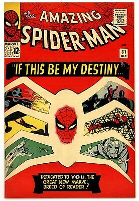 Amazing Spider-man 31 Raw w/ Color Touch 1st Gwen Stacy 1st Harry Osborn - READ