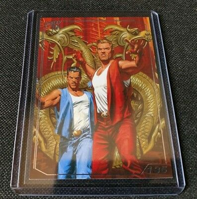 Double Dragon IV 135 - PlayStation - Limited Run Games Trading Card - NEW