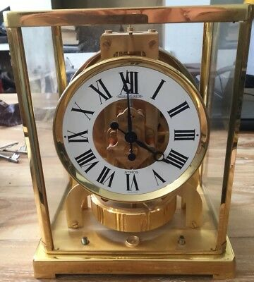 Vintage Atmos Clock By Jager-LeCoultre calibre 526-5 Working But No Front Glass