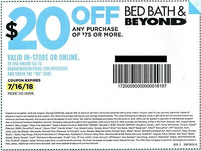 Bed bath beyond 10 off 30 discount in store certificate x5 3 bed bath beyond coupons 20 off 75 exp 716 fandeluxe Images