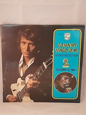 """Johnny Hallyday – """"Les Coups"""" & """"Mal""""    6680 265"""