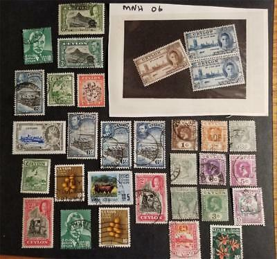 CEYLON Used Stamp Lot Collection W963