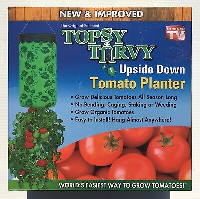 Topsy Turvy Upside-Down Tomato Planter as seen on TV - New And Improved