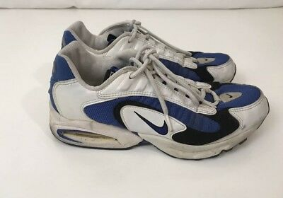 fb4321dc0aa VINTAGE NIKE AIR Max Triax og running shoes men s navy white 8.5 ...