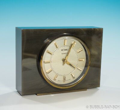 Vintage Retro Metamec Desk Mantle Clock