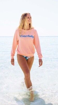 46942600b1 NWOT WILDFOX COUTURE Happy Girl Baggy Beach Jumper Sz L - $85.00 ...