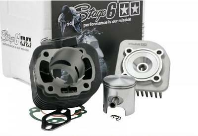 S6-7216650 Gruppo Termico Stage6 Streetrace 70Cc D.47 Beta Ark 50 2T Sp.10 Ghisa