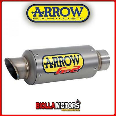 71018Gp Marmitta Arrow Gp2 Kawasaki Z 300 2015-2016 Titanio/