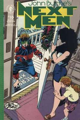John Byrne's Next Men (1992 series) #10 in VF condition. Dark Horse comics