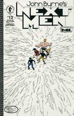 John Byrne's Next Men (1992 series) #12 in VF + condition. Dark Horse comics