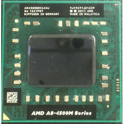Amd A8 Series A8 4500m Am4500dec44hj Laptop Cpu 1 9g Socket Fs1 Quad Core