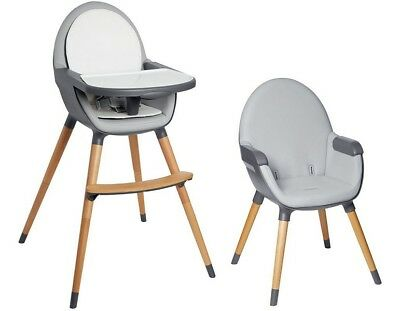 Skip Hop Tuo Convertible High Chair - GREY - NEW