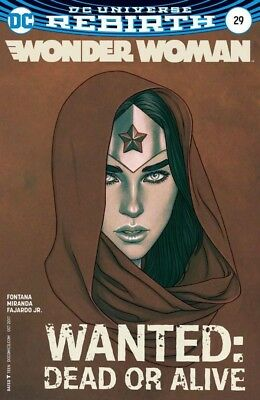 Wonder Woman #29 Frison variant SOLD OUT VERY RARE + HTF NM NEW B&B