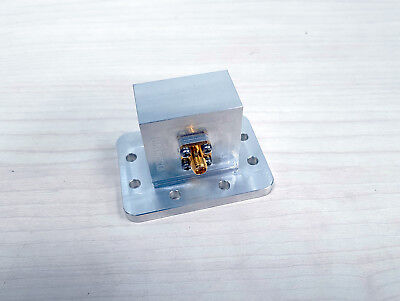 universal microwave Waveguide to SMA Coaxial Adapter WR112 / 850W137012