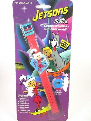 Jetsons The Movie Vintage Digital Watch 1990 Collecitble Character Judy Jetson