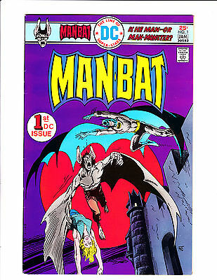 Man-Bat  No.1     :1976 :      : 1st App She-Bat! :