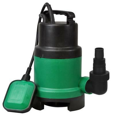 Kingfisher 250W Submersible Dirt Water Pump 10M Lead - Black Pond Suction
