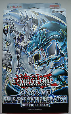 Yu-Gi-Oh! Saga of Blue-Eyes White Dragon - Structure Deck - englisch NEU & OVP !