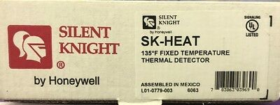 SILENT KNIGHT BY HONEYWELL SK-HEAT 135* THERMAL DETECTOR... NEW-Factory Box