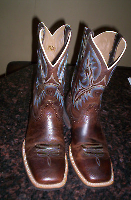 591670e48a5 NEW DAN POST Brown Leather Milwaukee DP2111R Cowboy Western Boots ...