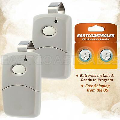 2x For Linear/MultiCode Gate Remote Control Opener 1089/3089/3070/3060/8911/4120