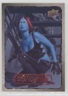 2015 Upper Deck Marvel Dossier #41 Mystique Non-Sports Card 0a3