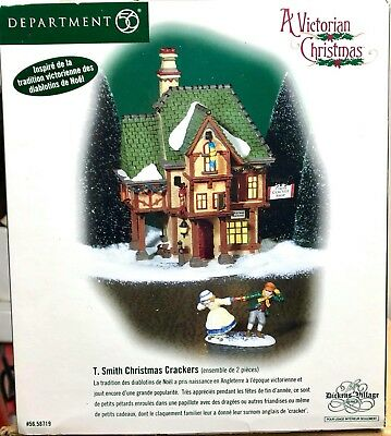 Department 56 New England Village Series Verna Mae's Boutique Gift Set #56626