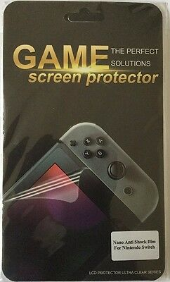 Tempered glass protector nintendo switch.Ultra-clear High Definition with 9